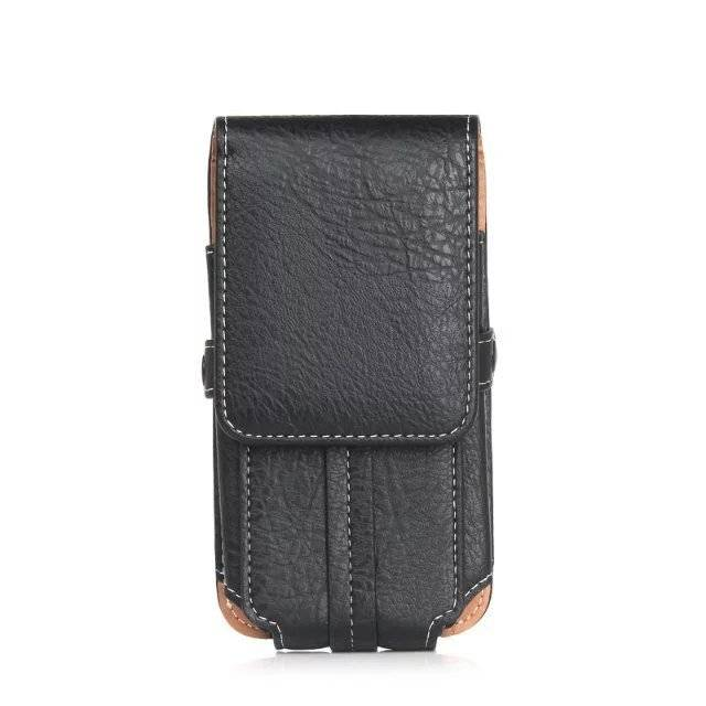 Shockproof Leather Pouch For Smartphone
