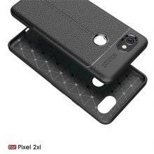 Leather and Silicone Case for Google Phone