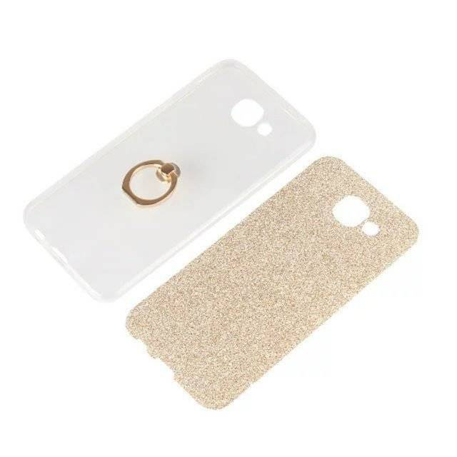 Fashion Glittery Phone Case with Phone Holder Ring
