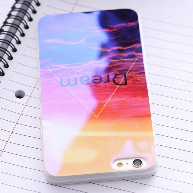 Creative Vivid Protective Soft Silicone Phone Case for iPhone