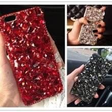 Luxury Crystals Protective Women's Phone Case