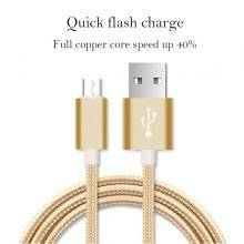 Quick Charging Micro USB Cable for Android Mobile Phone