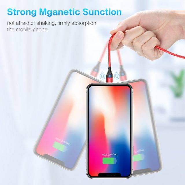 Magnetic Design Multi Type Charging Cable