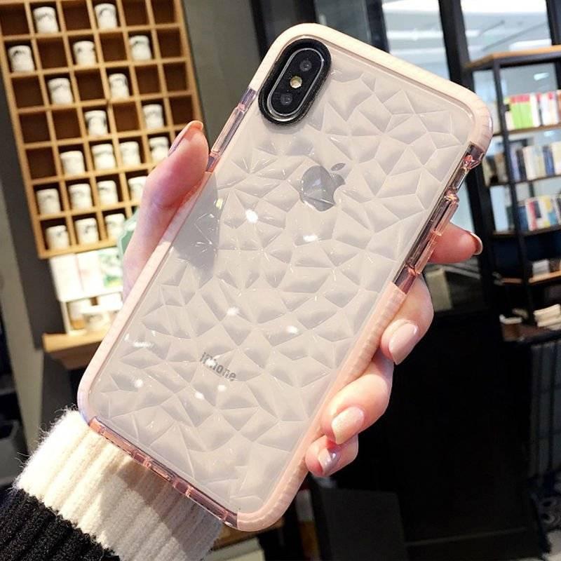 Geometric Transparent Case for iPhone