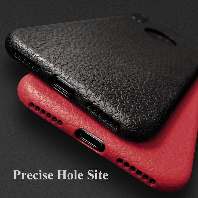 Ultra Thin Leather Phone Case for iPhone
