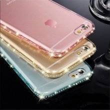 Crystal Frame TPU Case for iPhone