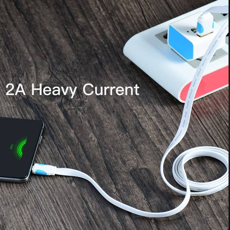 Micro USB Cable Fast Charging Wire for Android Mobile