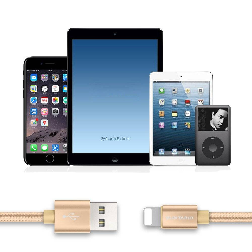 Charging and Data Cable for Apple iPhone