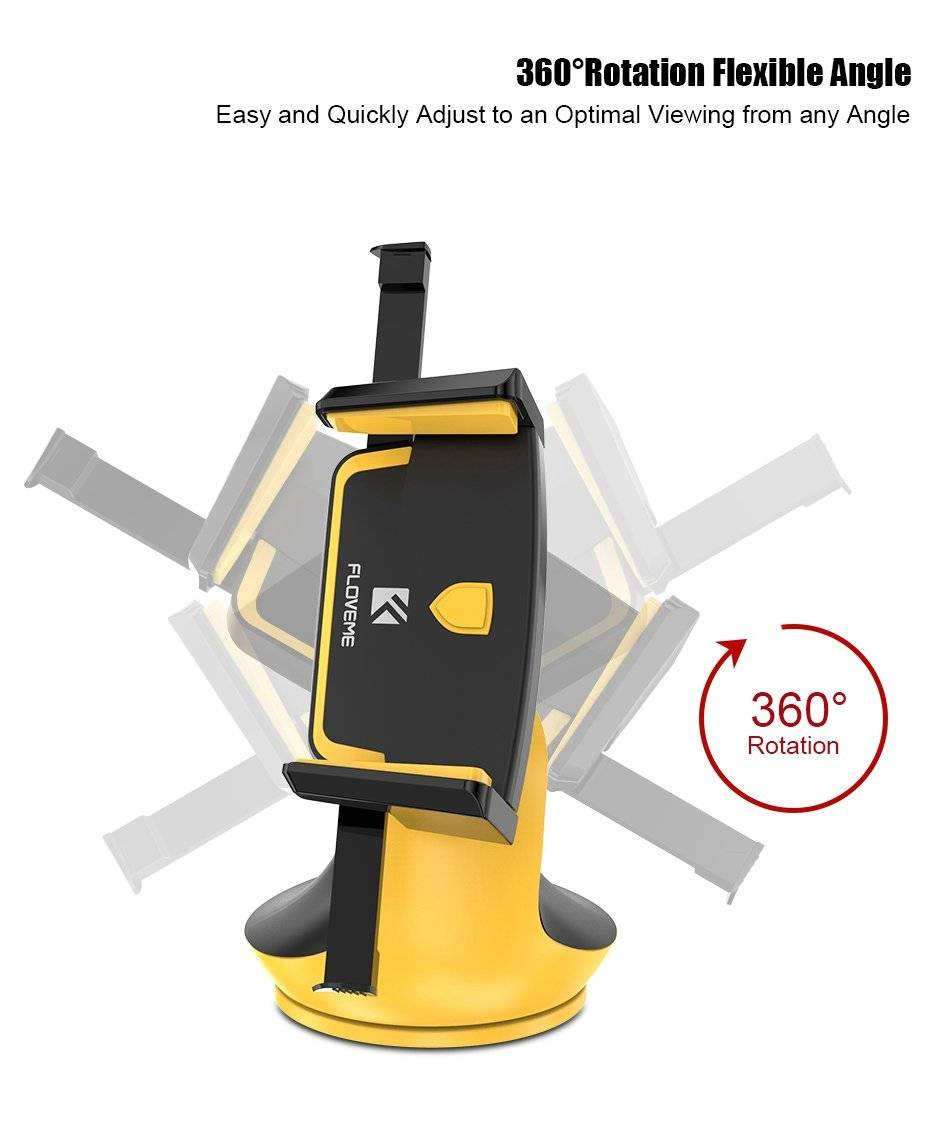 Bright One Touch Smartphone Car Mount