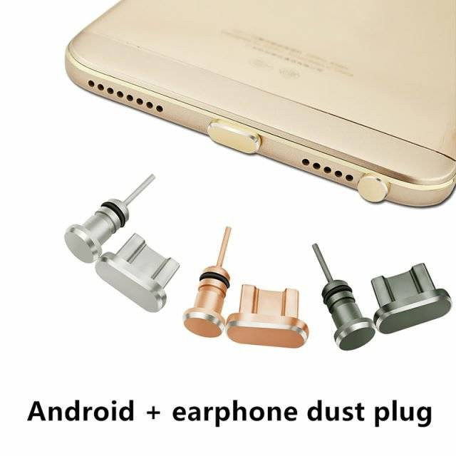 Dust Plug for Android Phones