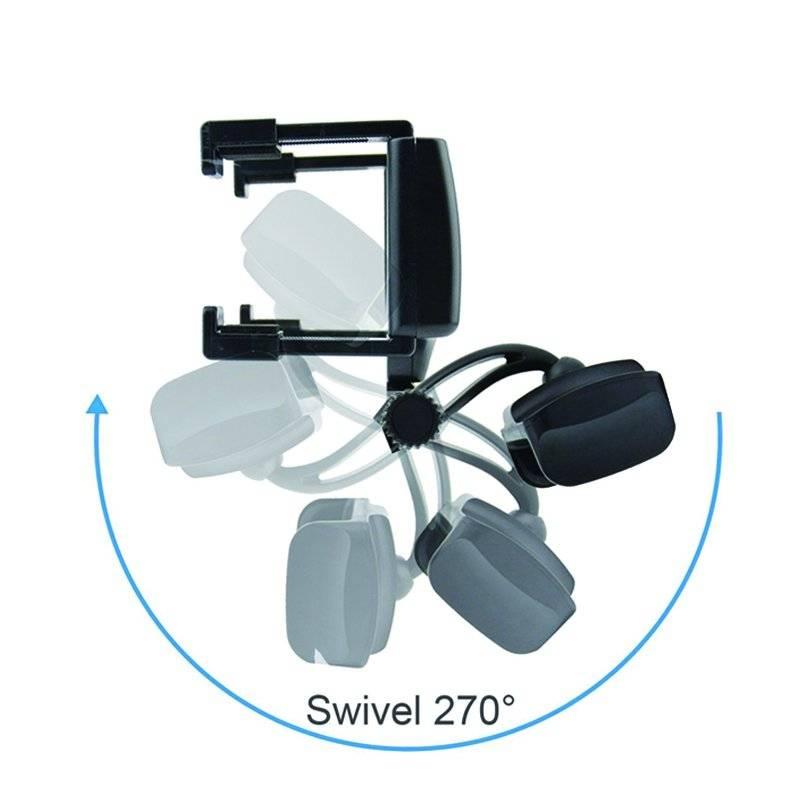 Car Rearview Mirror Mount Phone Holder for Smartphones