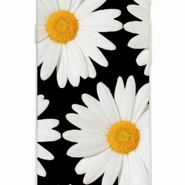 Sunflower Chamomile Silicone Phone Cases