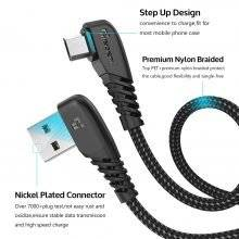 Nylon Micro USB Cable for Mobile Phone