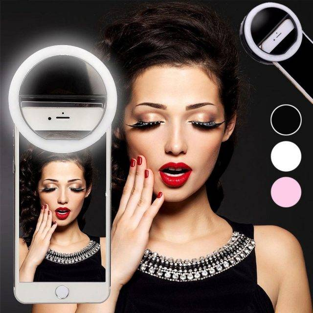 36 LED Lamps Selfie Light Ring for Smartphone