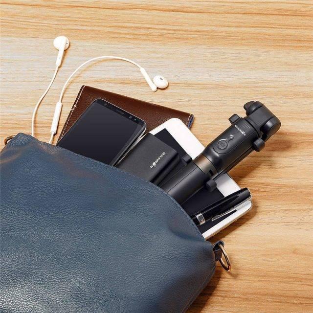 Comfortable Wireless Selfie Stick 3 in 1