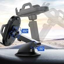 Adjustable Car Phone Holder with Suction Cup