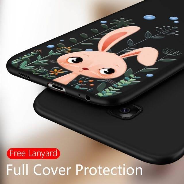 3D Cartoon Soft Silicone Case for Samsung