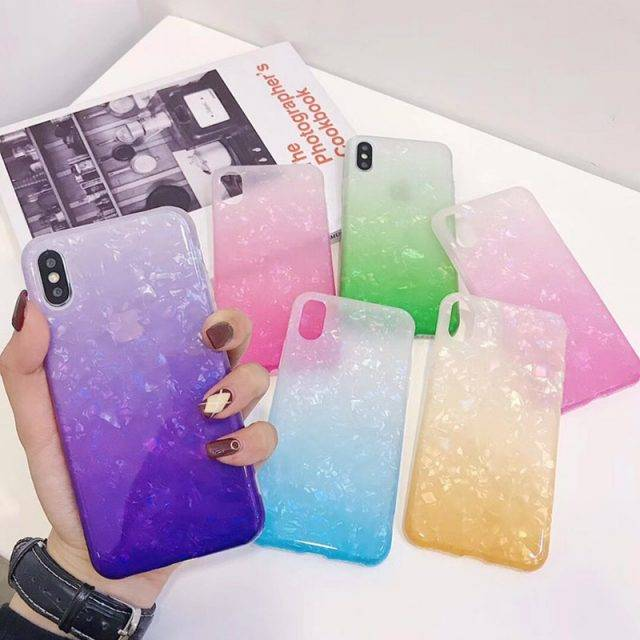 Colorful Frosted Soft Phone Case for iPhone