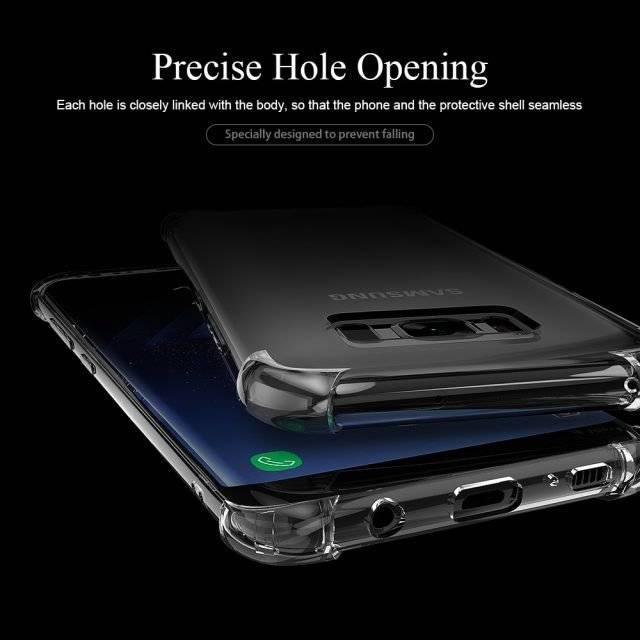 Transparent Design Shockproof Case for Samsung