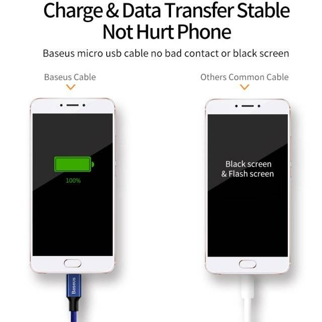 Micro USB Charging Cable for Mobile Phone