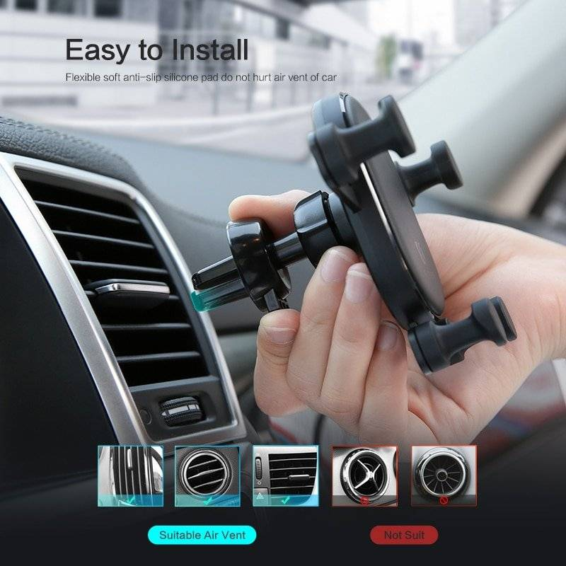 Auto Lock Car Phone Holder
