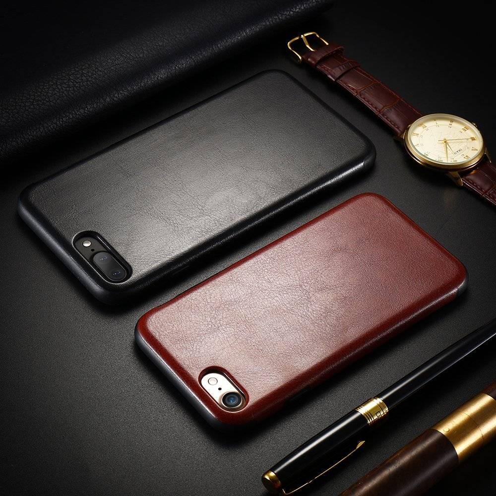 Vintage Anti-Knock PU Leather Phone Case