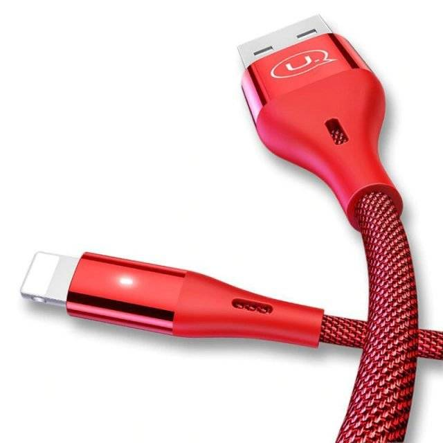 USB To Apple Lightning Cable with Braided Nylon Jacket