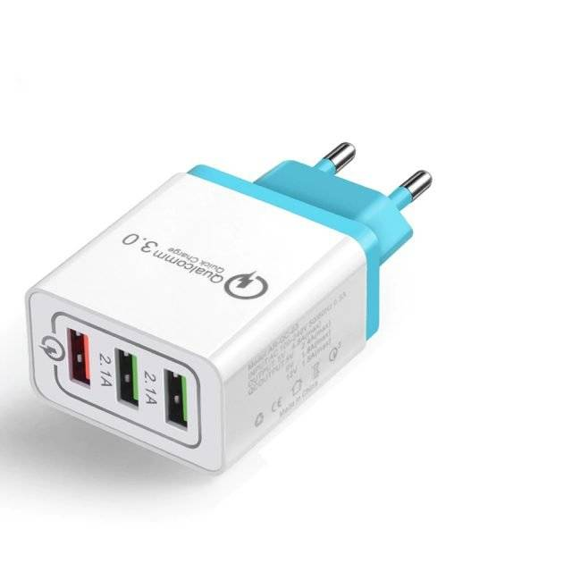 3-Port Portable Charger for Smart Devices