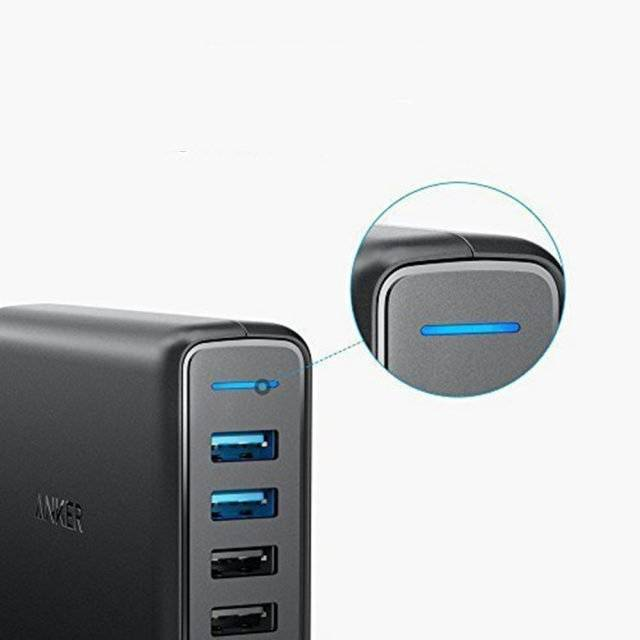 5-Ports Quick USB Charger