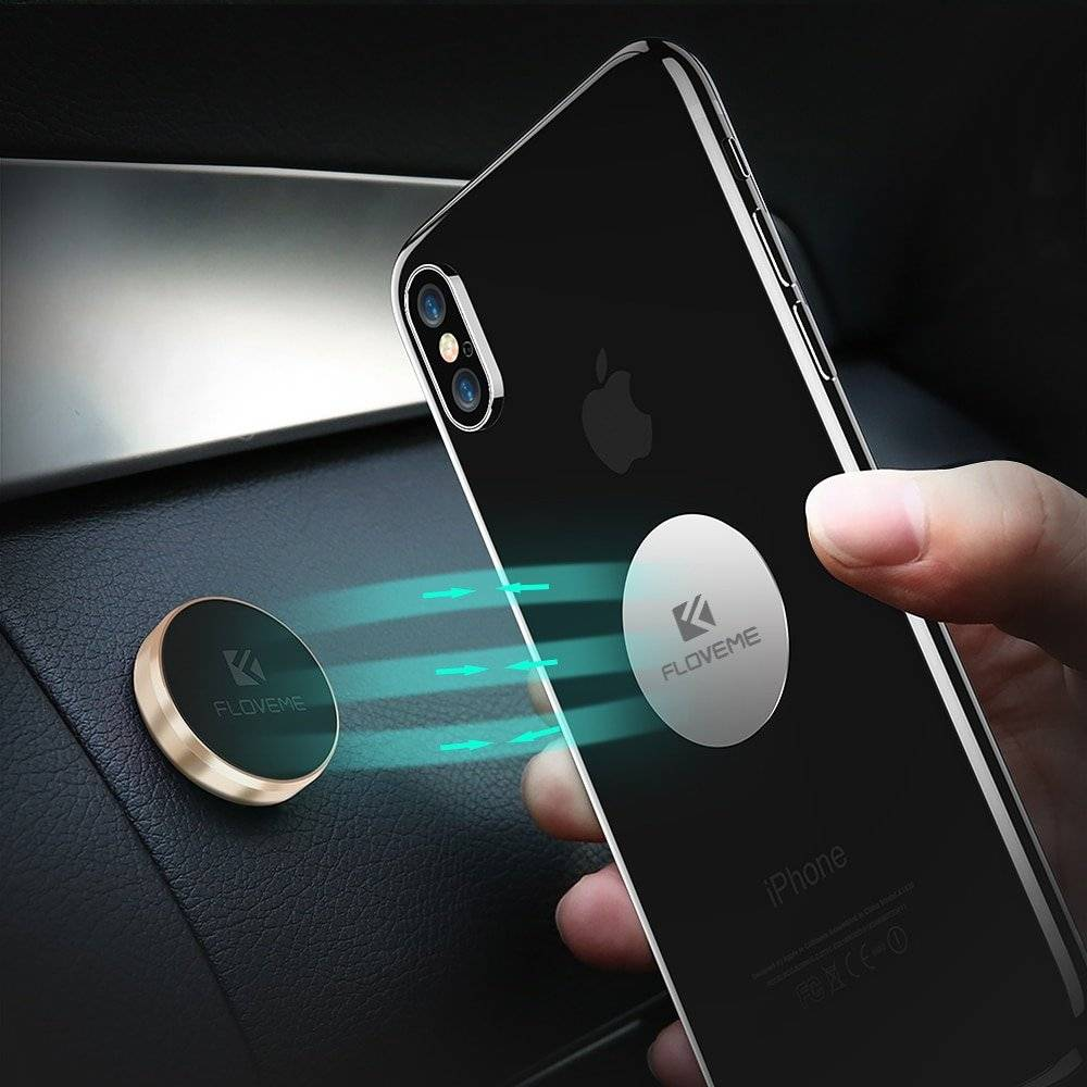 3 Type Option Magnetic Car Phone Holder