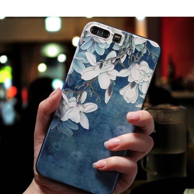 Floral Printed Phone Case for Huawei