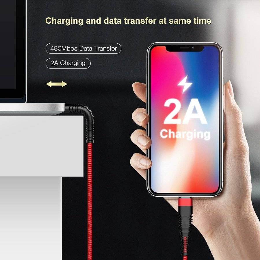 Fast Charging High Tensile Cable for iPhone
