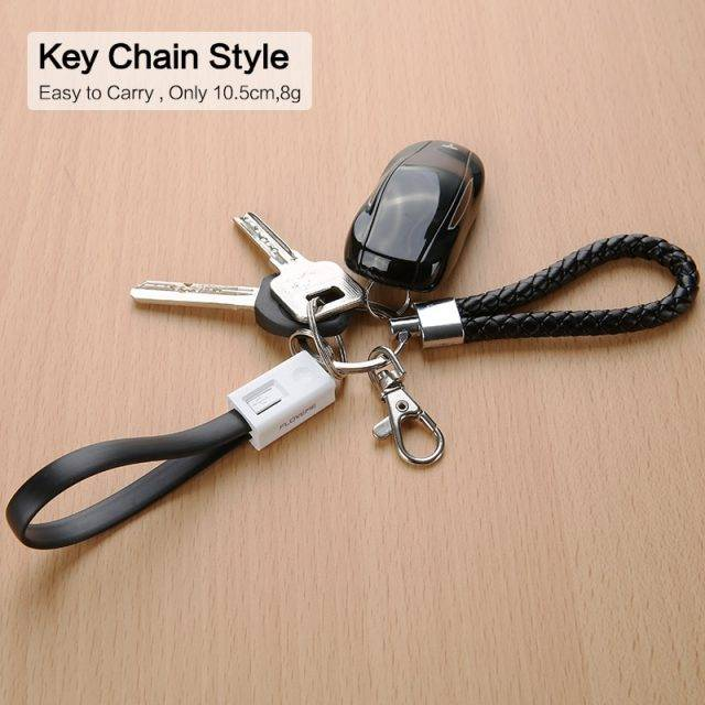 Keychain Design USB Charging Cable
