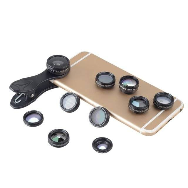 Universal Phone Lenses Kit with Filters