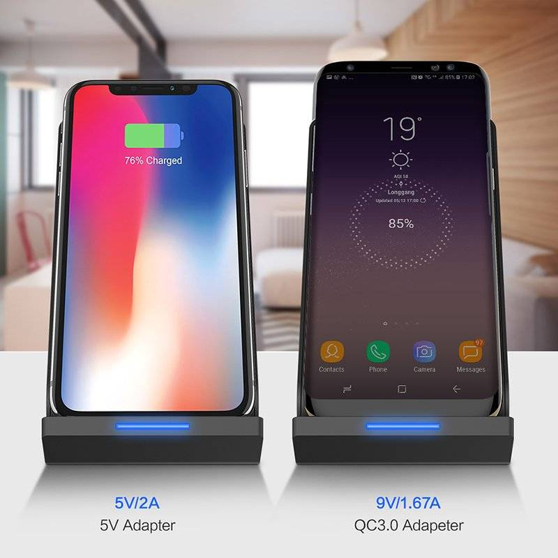 Universal 5V/2A Wireless Charging Station