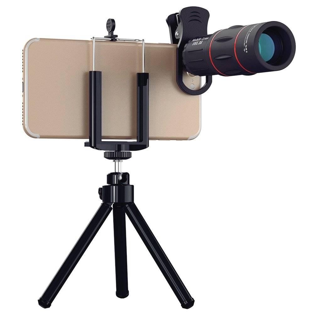 18X Universal Telescope Phone Lens with Tripod