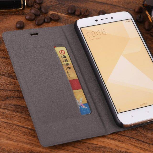 Luxury Slim Leather Case for Mobile Phones