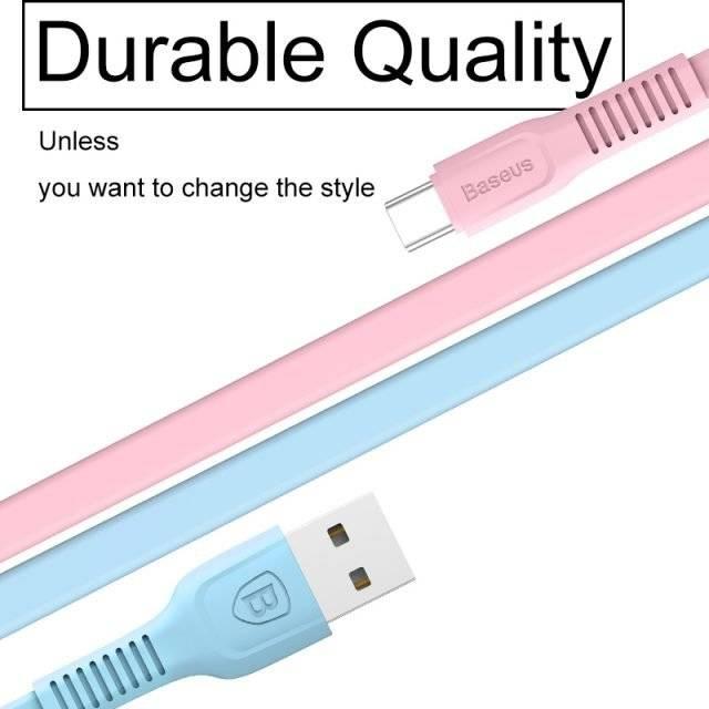 Colorful USB-C Cable 25-200 cm