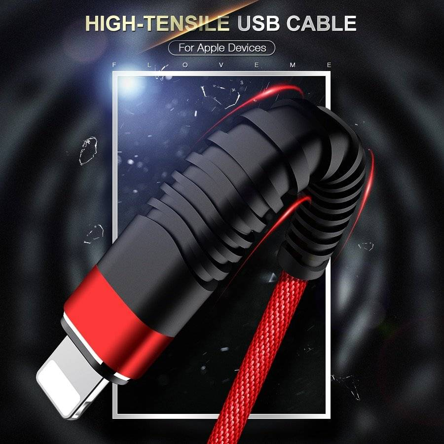 High Tensile USB Cable for iPhone