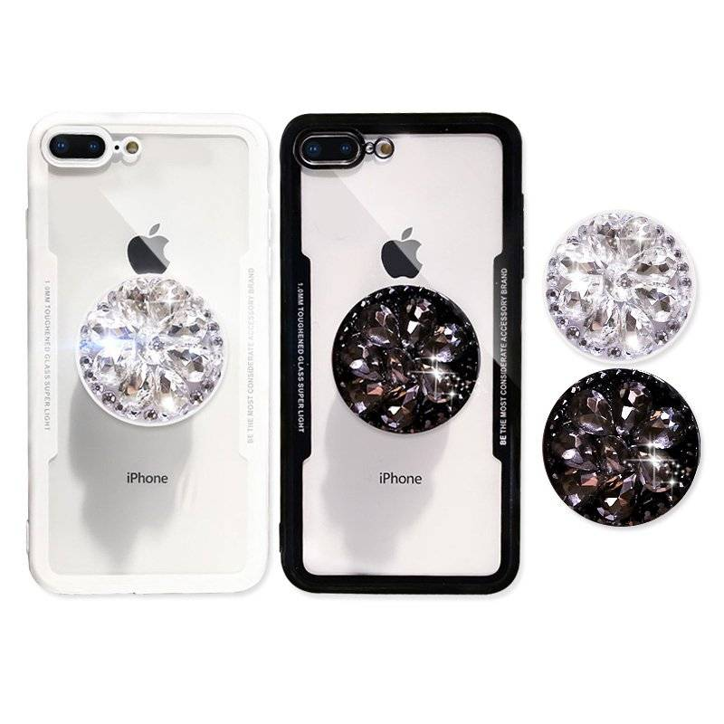 Cute 3D Diamond Styled Soft Case for iPhone