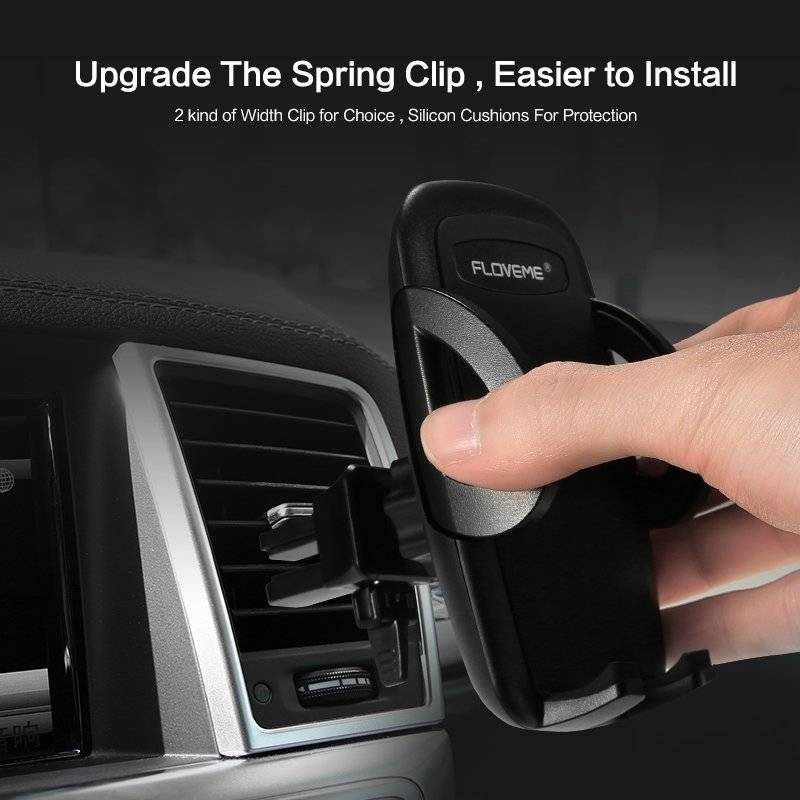 One-Click Release Universal Car Phone Holder