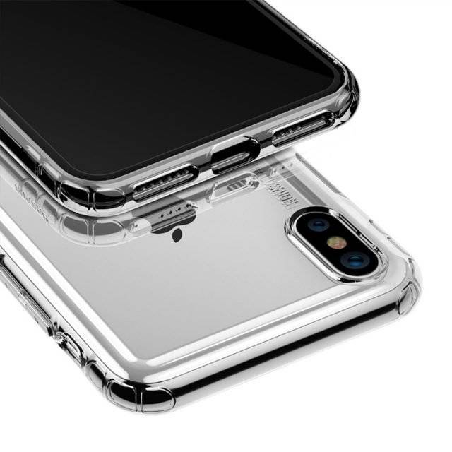 Transparent Silicone Case for Apple iPhone