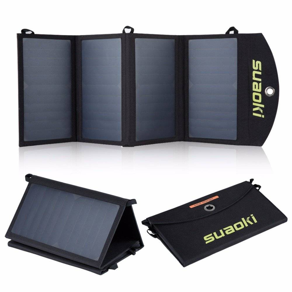 25W Portable Foldable Waterproof Solar Panels