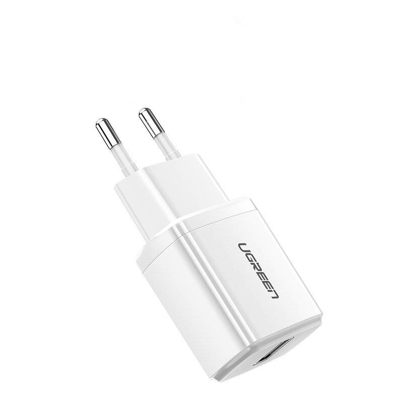 Compact USB Charger with Lightning Cable