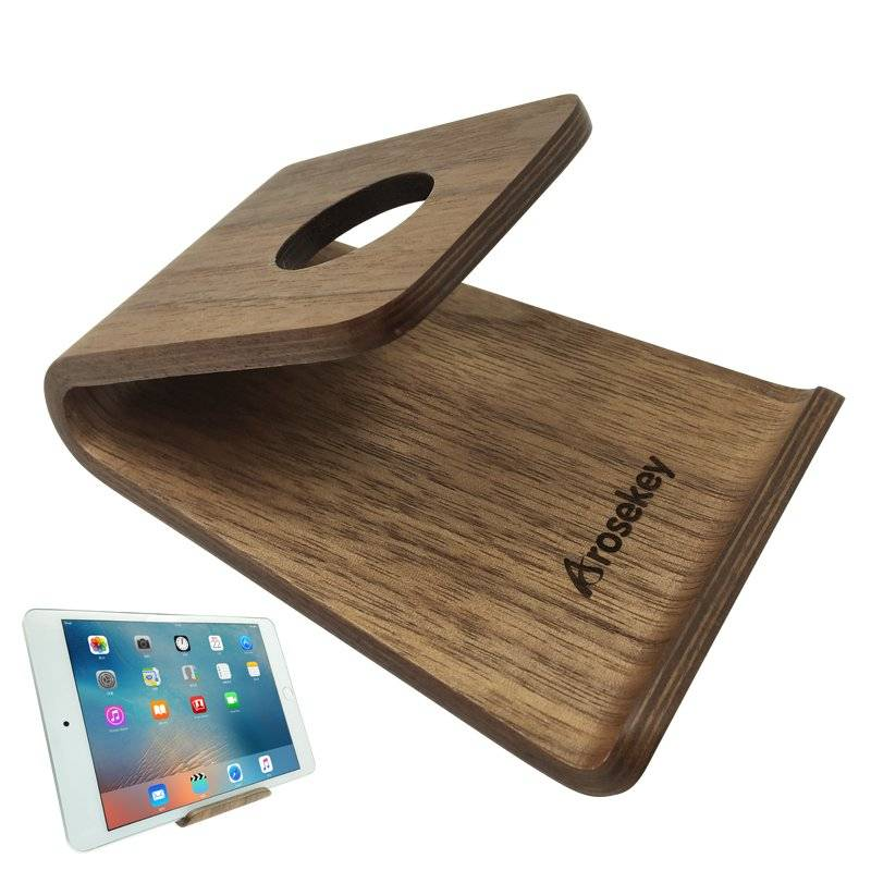 Wooden Stand for Smartphones and Tablet Computers