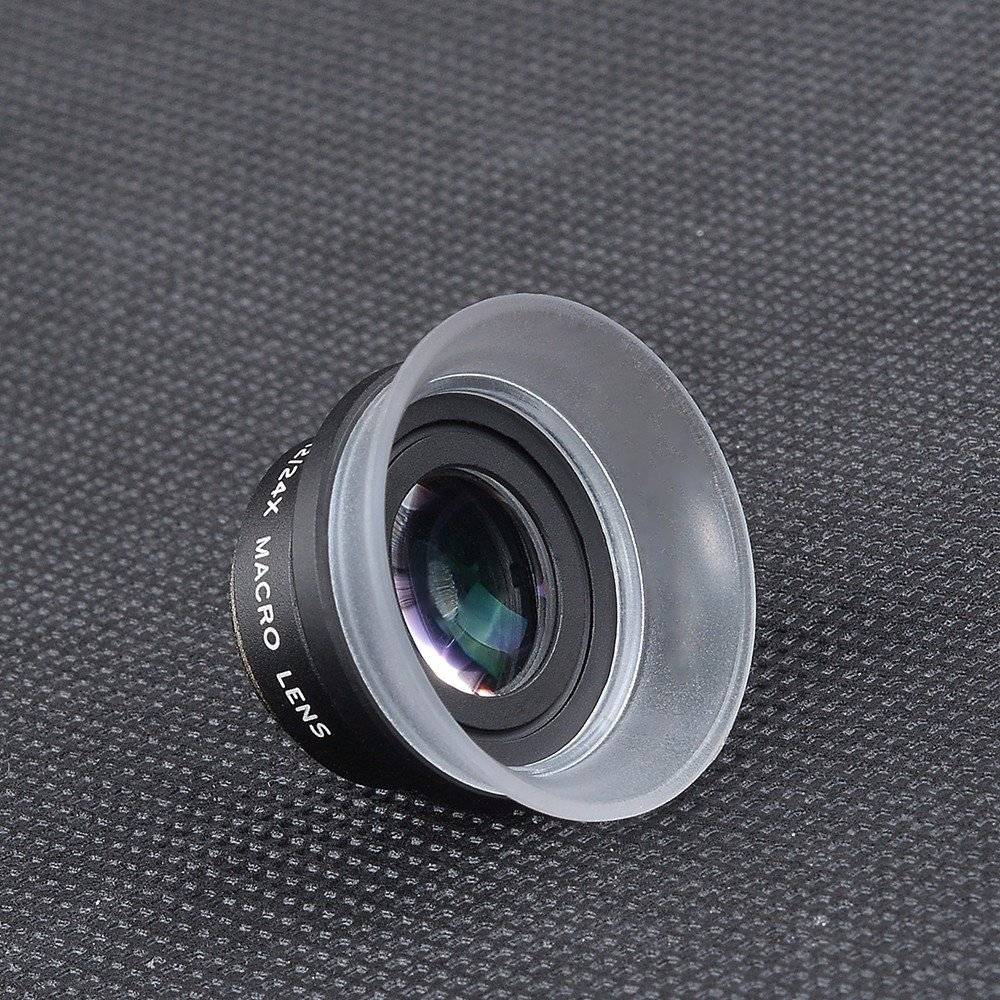 Universal Super Macro Phone Lenses Kit with Hood
