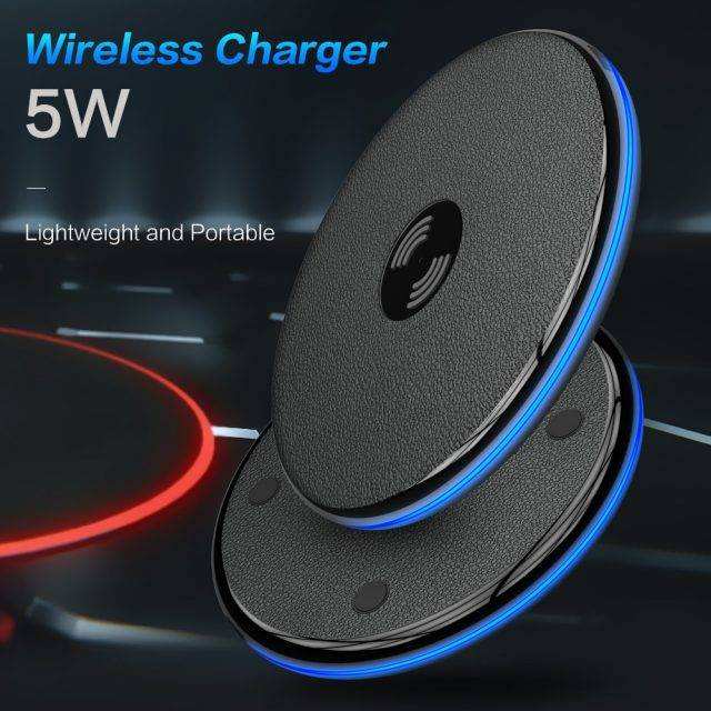 5W Portable Design Qi Wireless Charger
