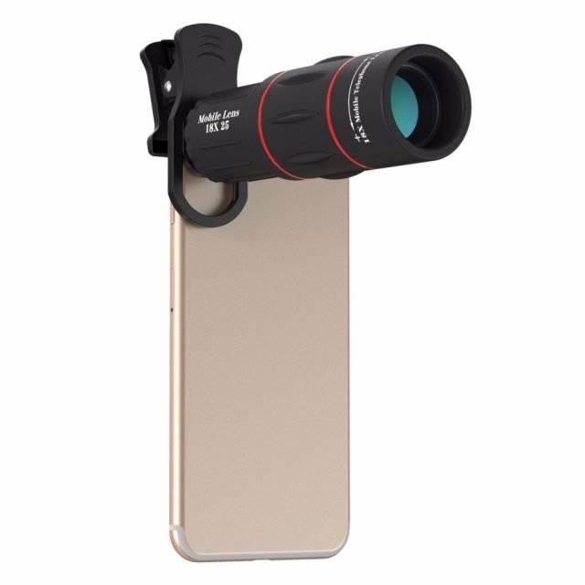 18x Optical Telescope Clip Lens