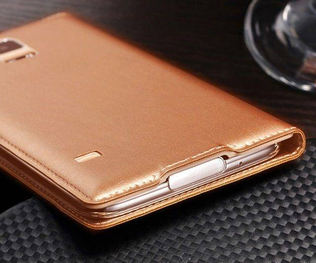 Smart Faux Leather Flip Case for Samsung Galaxy Smartphones