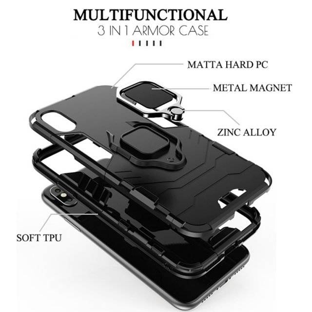 3 in 1 Full Protective Design Phone Case for Xiaomi